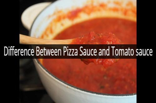 Difference Between Pizza Sauce and Tomato sauce