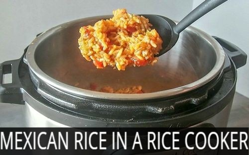 how to cook mexican rice  in rice cooker