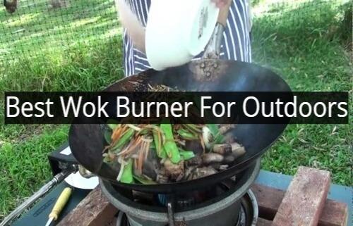 Best Wok Burner For Outdoors