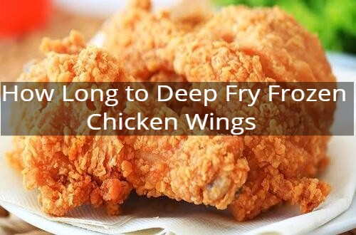 How Long To Deep Fry Frozen Chicken Wings 10pickup