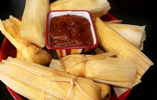 how to heat up frozen tamales