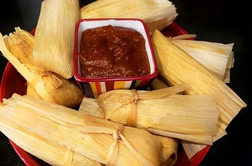 how to heat up frozen tamales