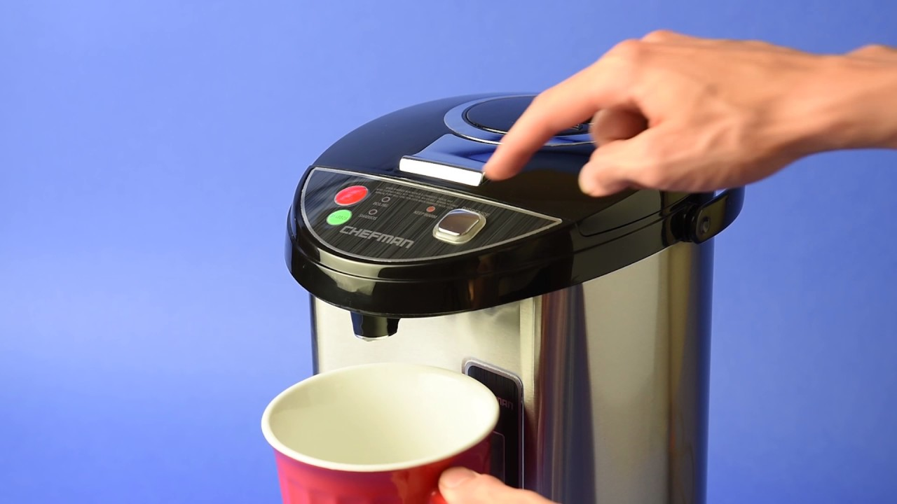 How to clean instant hot water dispenser