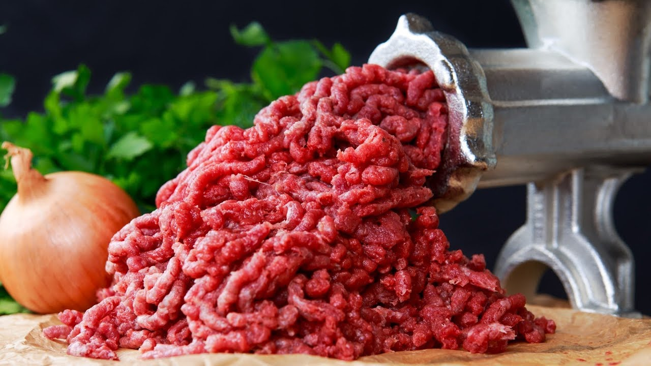 How to grind chicken with a meat grinder