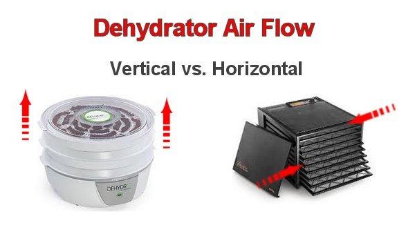 Vertical air flow vs horizontal air flow