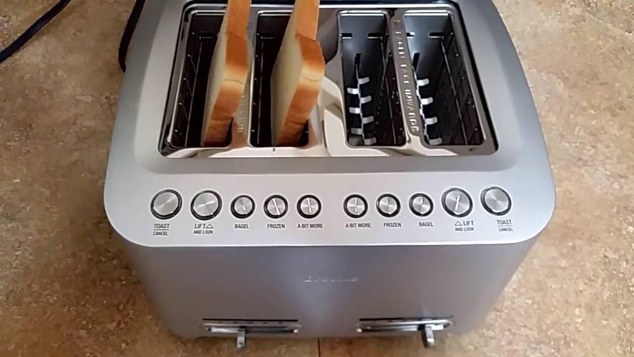 best 4 slice long slot toaster