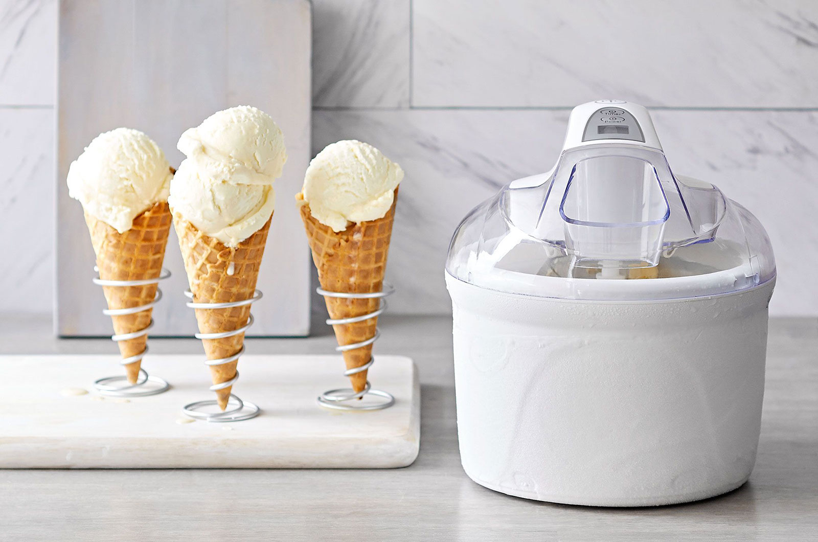 Best Ice Cream Maker with Compressor