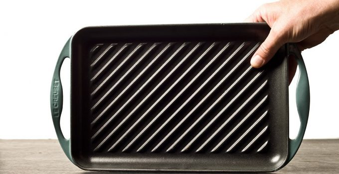 How to Clean Le Creuset Grill Pan